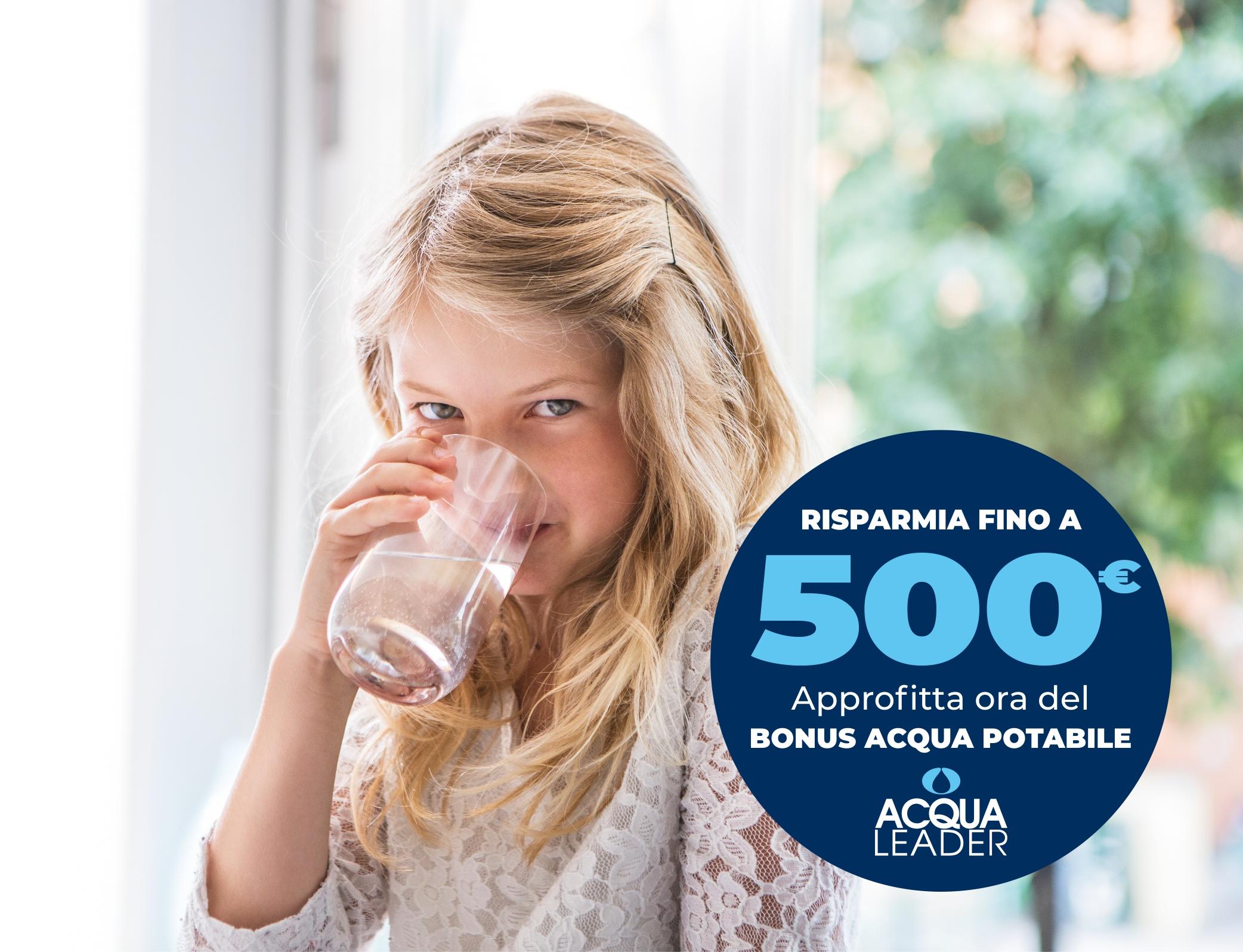 bonus acqua potabile